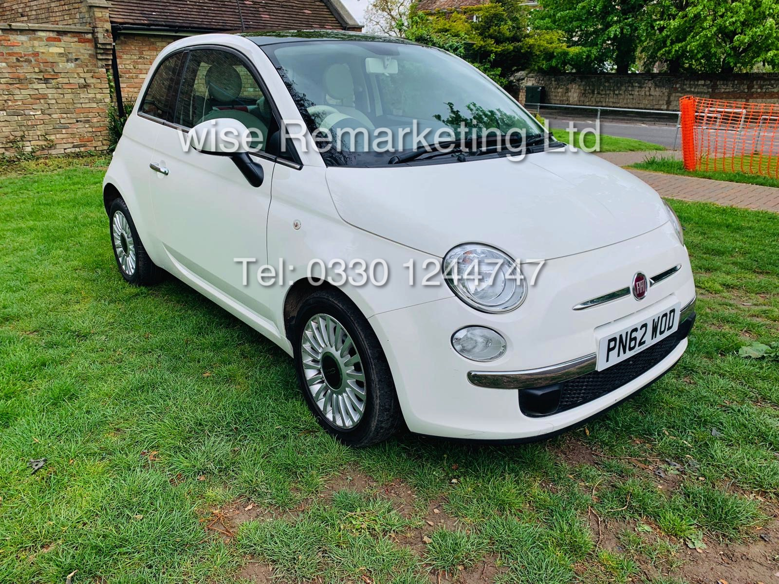 **RESERVE MET**FIAT 500 1.2 LOUNGE DUALOGIC STOP/START (2013 SPEC) ONLY 36K MILES *1 OWNER* AIR CON - Image 2 of 23