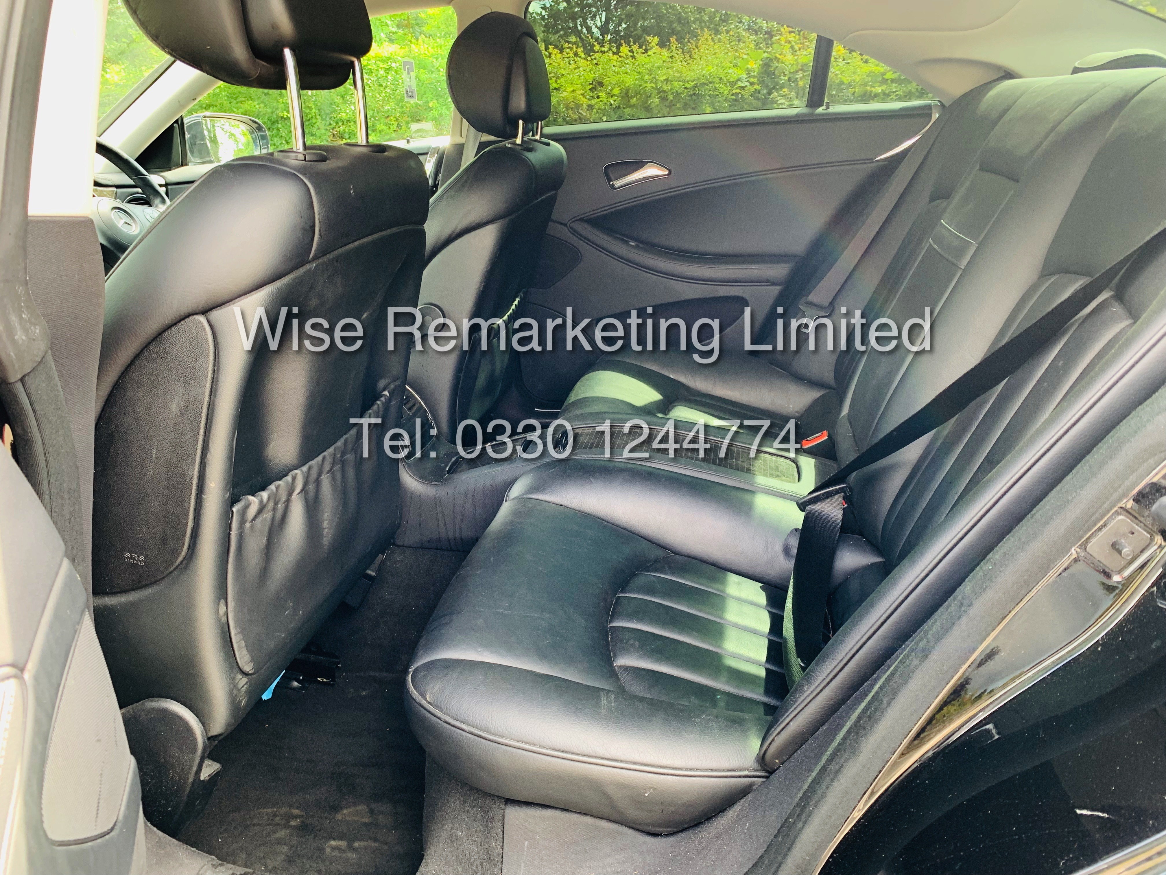 * RESERVE MET* MERCEDES CLS350 CDI SPORT COUPE AUTOMATIC (BLACK EDITION) 2010 / LOW MILES / NO VAT - Image 12 of 24