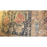 Lot 252 - Two Caucasian carpets, one with repeatin