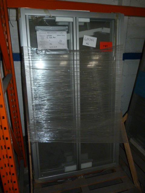 Lot 22 - *6 1850 by 1070 Aluminium Bi Fold Shower Doors