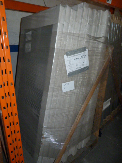 Lot 10 - *13 1850 by 780 Bi Fold Shower Doors