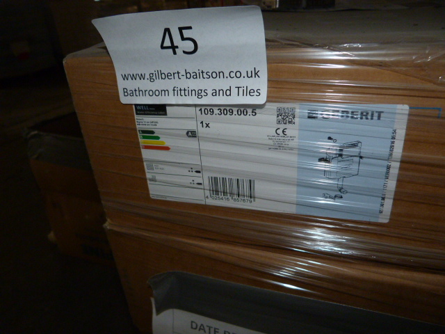 Lot 45 - *Pallet Containing 10 Geberit Concealed Cisterns