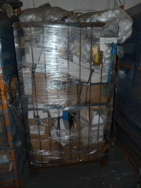 Lot 34 - *Mixed Pallet Containing Assorted Plumbing Fitting