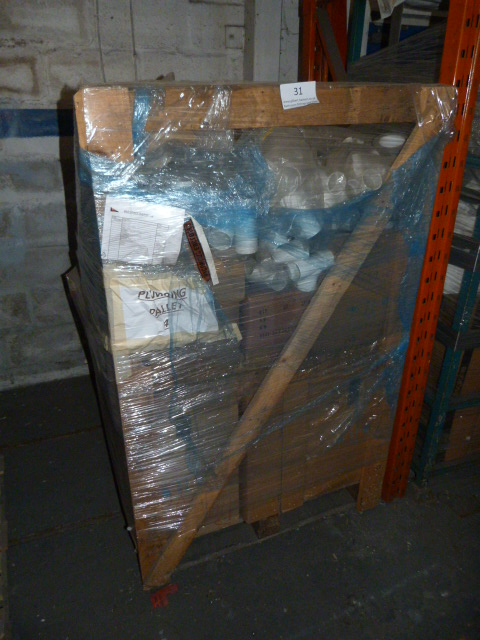 Lot 31 - *Pallet Containing Mixed Plumbing Items Including
