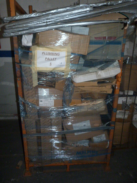 Lot 33 - *Mixed Pallet Containing Assorted Plumbing Fitting
