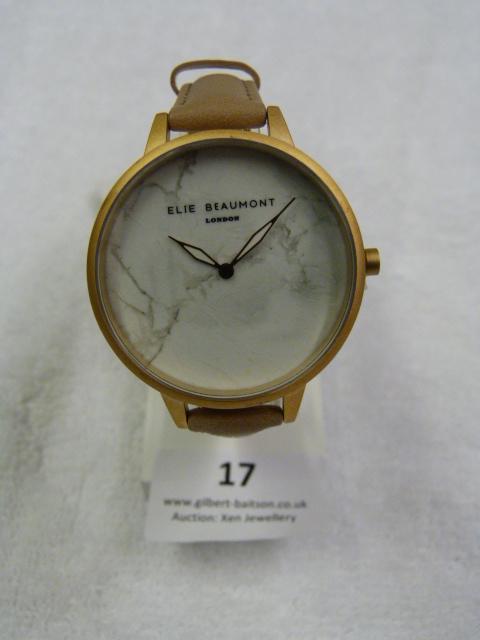 Lot 17 - *Elle Beaumont Ladies Wristwatch