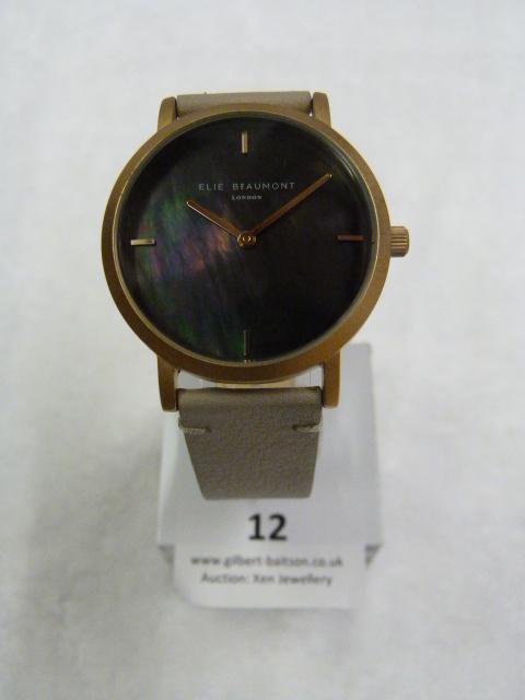 Lot 12 - *Elle Beaumont Ladies Wristwatch