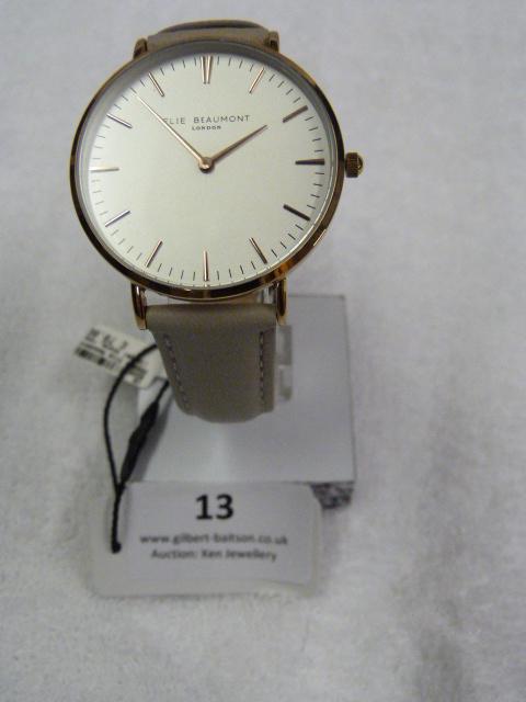 Lot 13 - *Elle Beaumont Ladies Wristwatch
