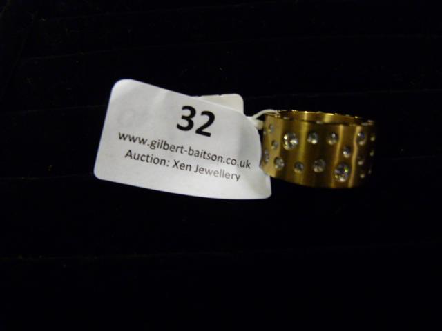 Lot 32 - *Edblad Matt Rose Gold PG6 Medium Ring