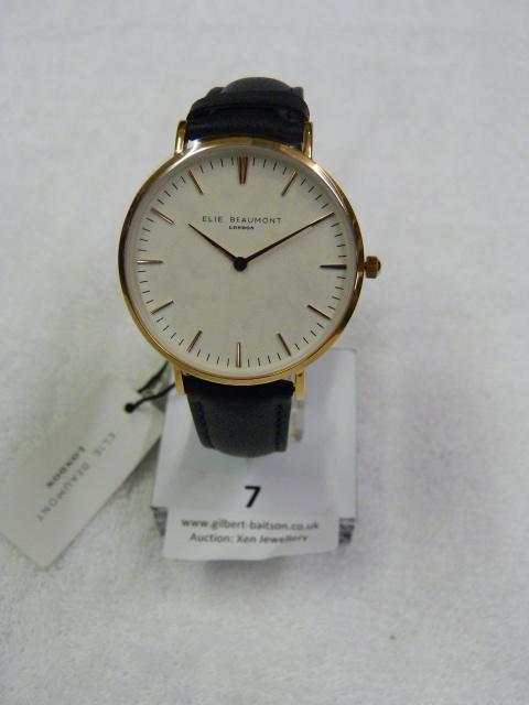 Lot 7 - *Elle Beaumont Ladies Wristwatch