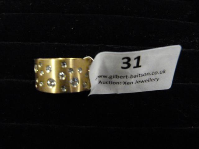 Lot 31 - *Edblad Matt Rose Gold PG6 Medium Ring
