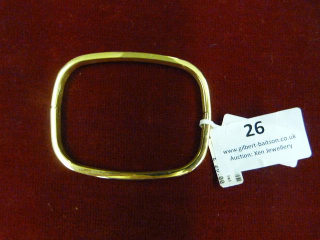Lot 26 - *Edblad Large 101 Bangle (Gold)