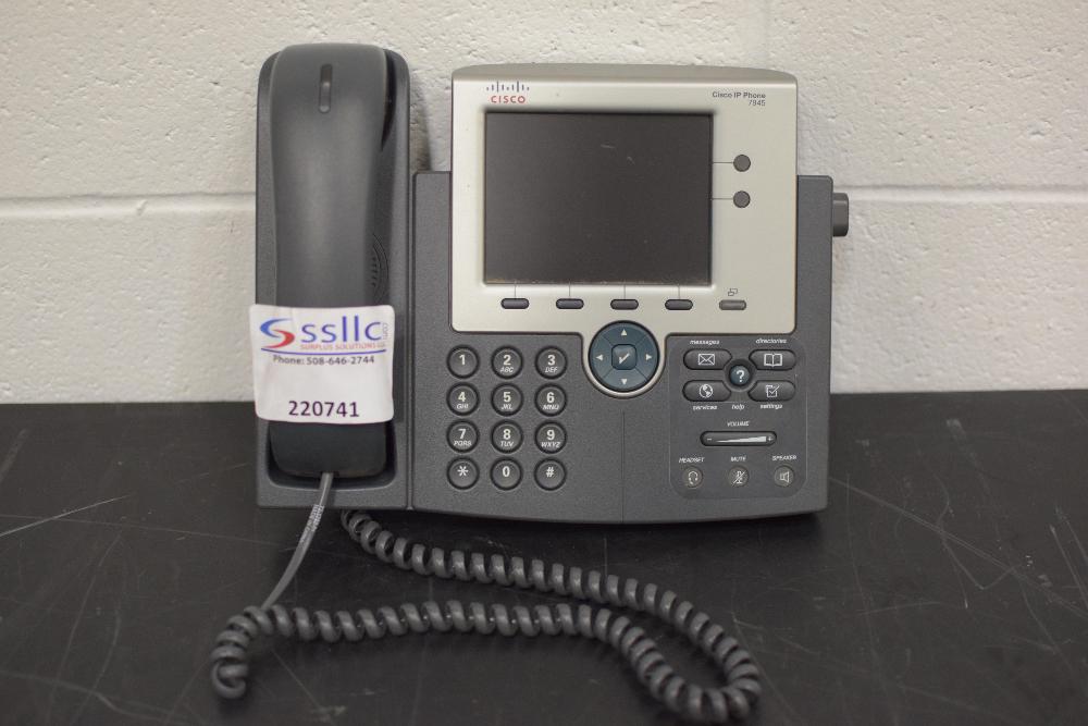 Lot 38 - Cisco Model 7945 IP Phone