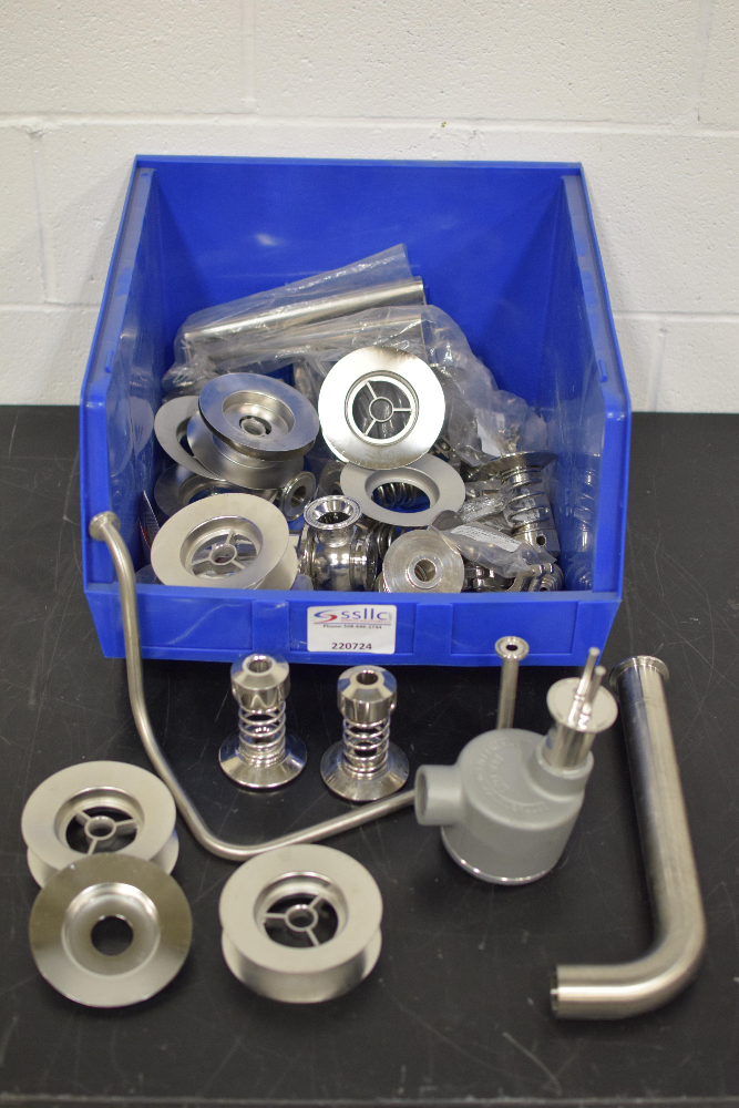 Lot 19 - Lot of Stainless Steel Vessel Accessories