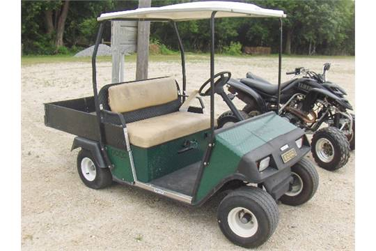 1998 ez go golf cart golf cart sold with a bill of sale only