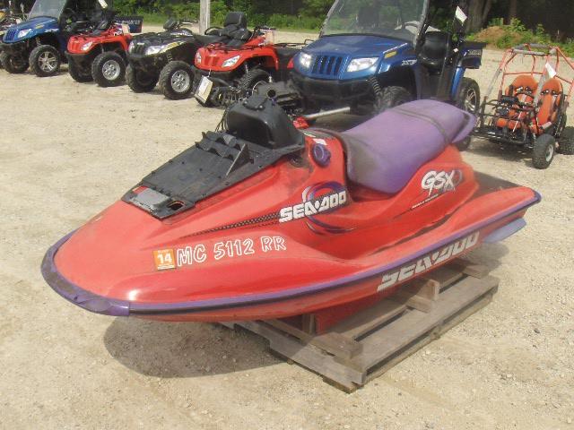 1998 SEADOO NO ENGINE GSX LTD ZZNG1709A898 jet ski, no