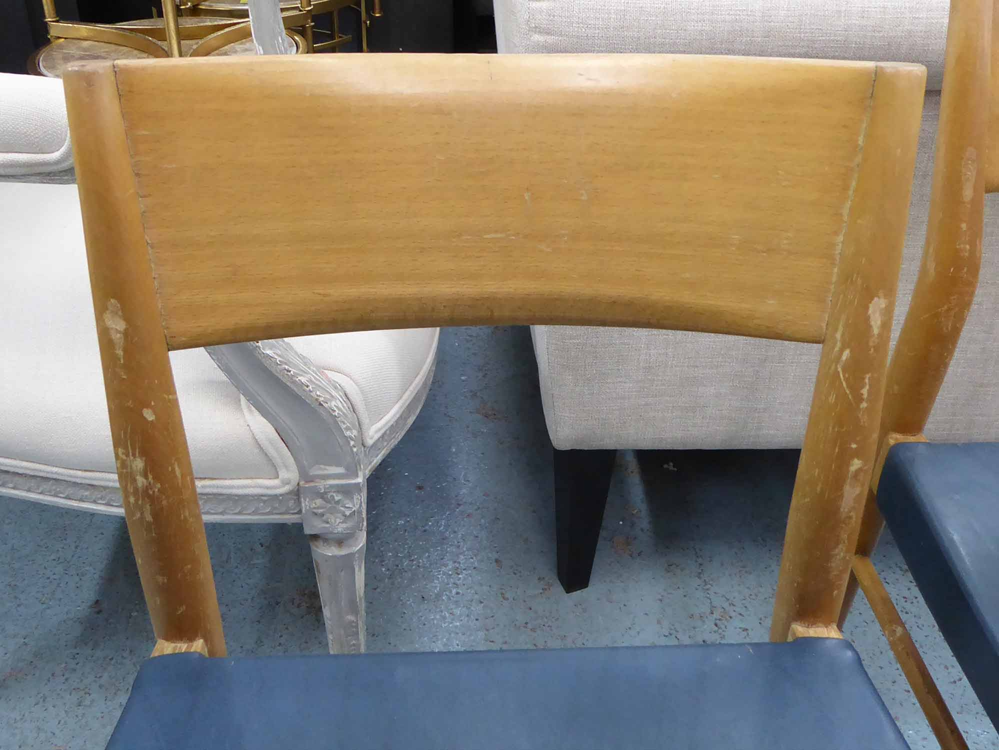 Lot 5 - WILKHAHN MODEL 351 DINING CHAIRS, by George Leowald, a set of three, 80cm H.