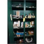 Cabinet w/Compressed Air Delivery Supplies|Lot Tag: 417