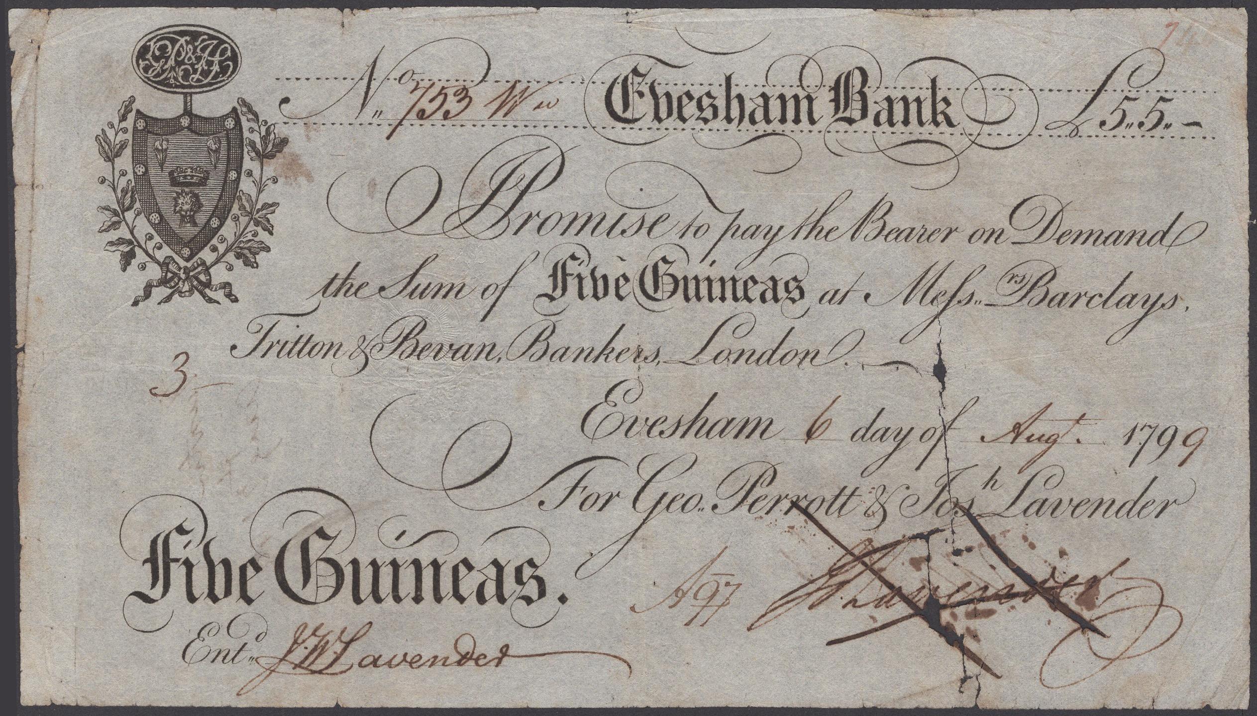 Lot 13 - British Banknotes