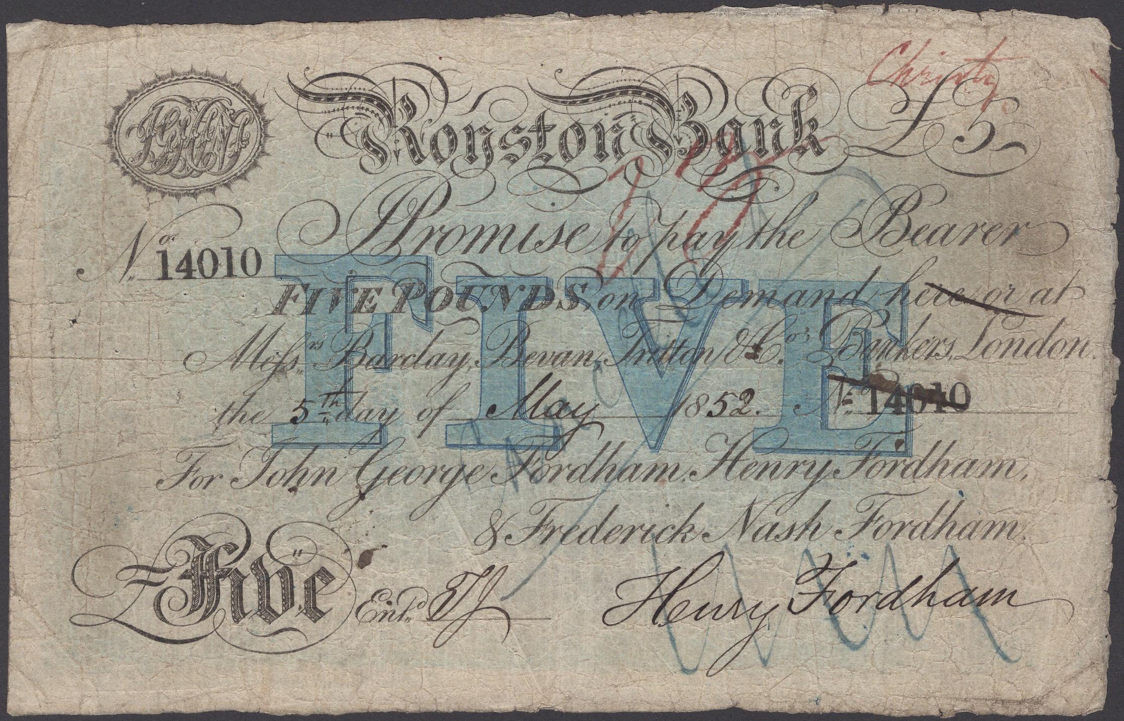 Lot 32 - British Banknotes