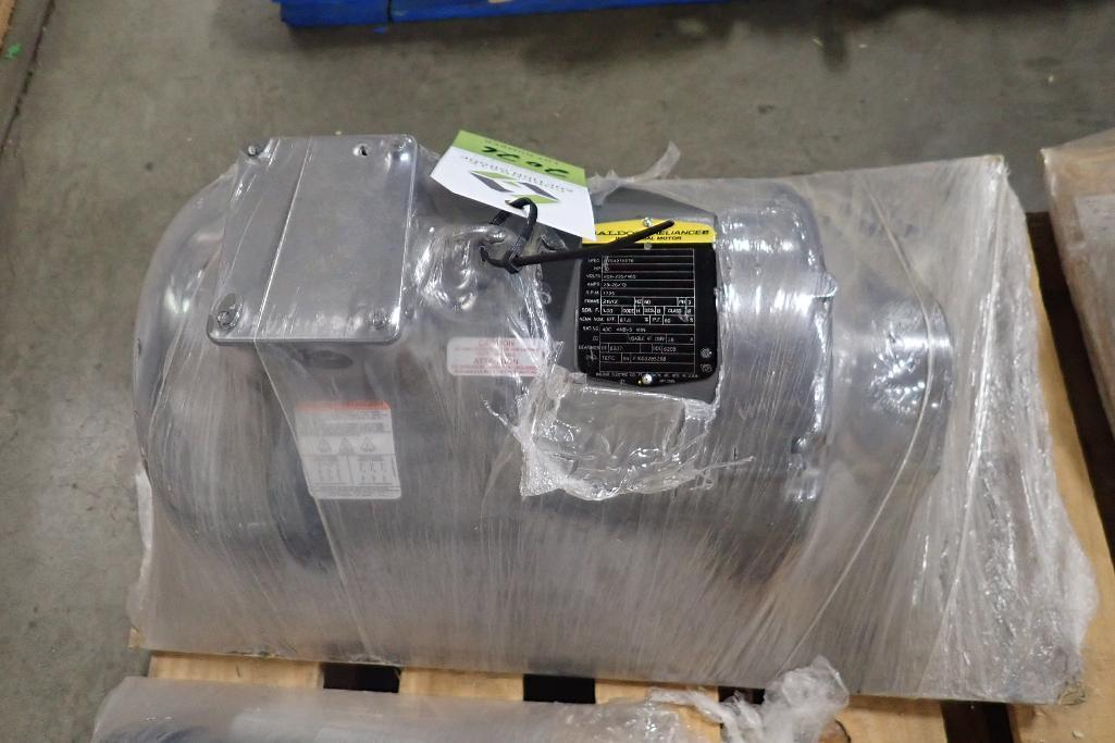 Lot 2026 - New Baldor 10 hp electric motor. (See photos for additional specs). **Rigging Fee: $25** (Located in