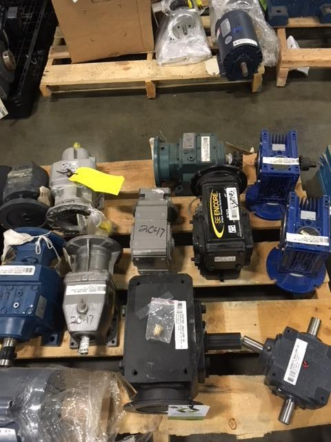 Lot 2047 - (11) Assorted gearboxes. (See photos for additional specs). **Rigging Fee: $25** (Located in Eagan,