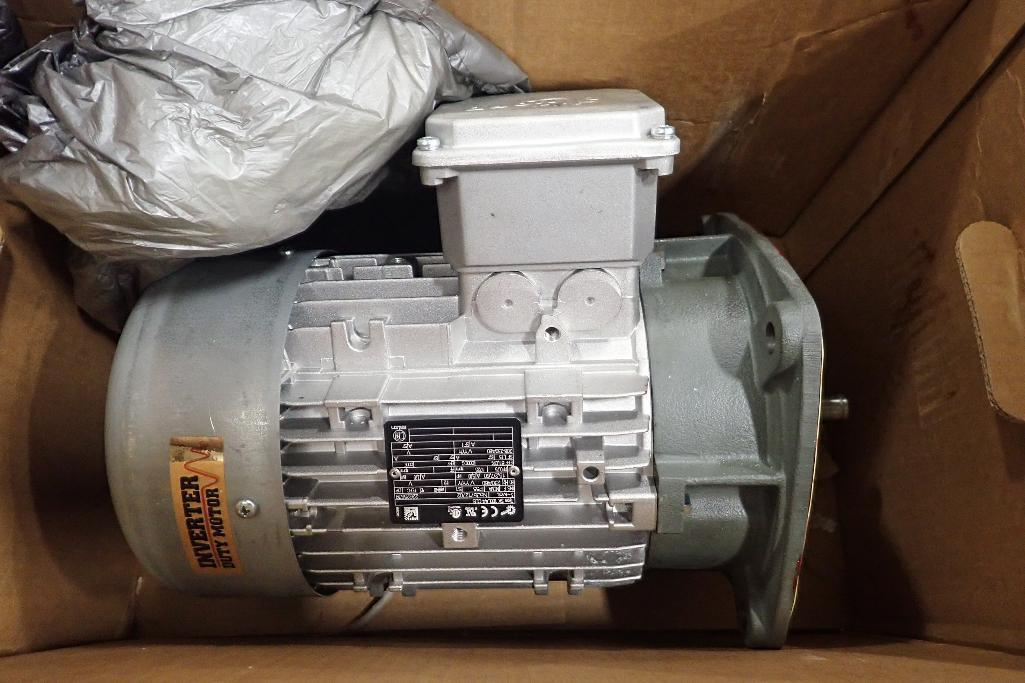 Lot 2035 - New Nord 5 hp electric motor. (See photos for additional specs). **Rigging Fee: $25** (Located in Ea