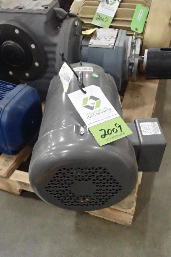 Lot 2009 - Baldor 10 hp electric motor. (See photos for additional specs). **Rigging Fee: $25** (Located in Eag