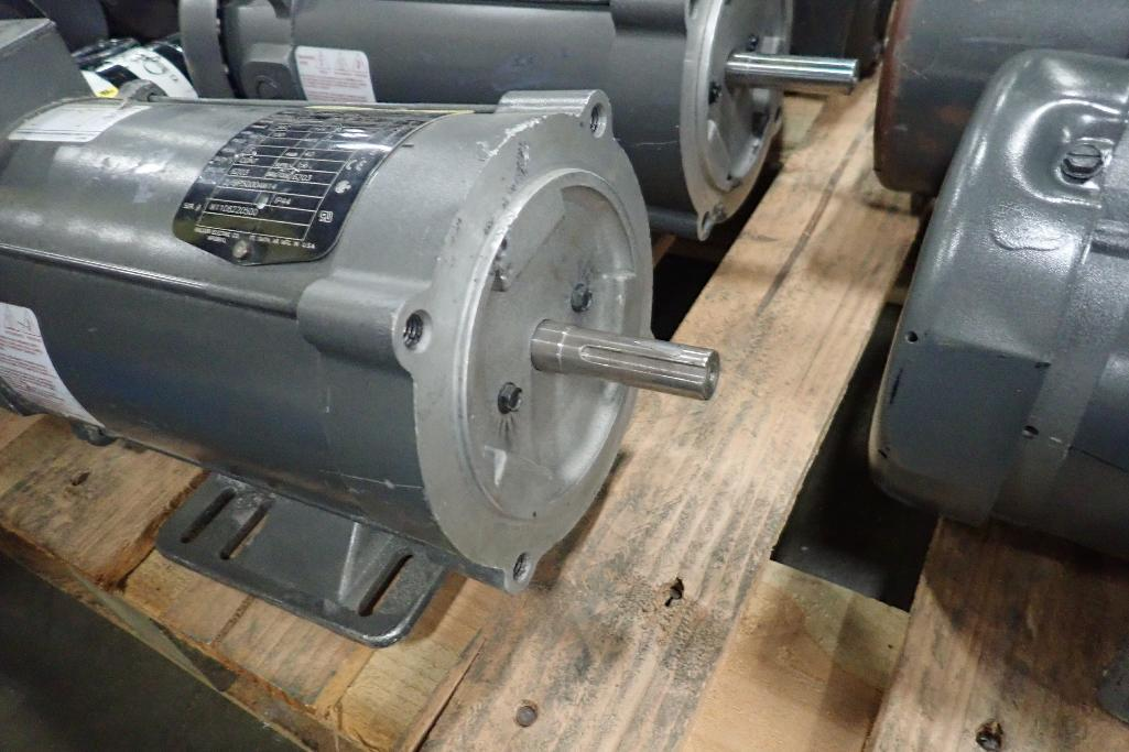 Lot 2043 - (17) assorted electric motors. (See photos for additional specs). **Rigging Fee: $35** (Located in E