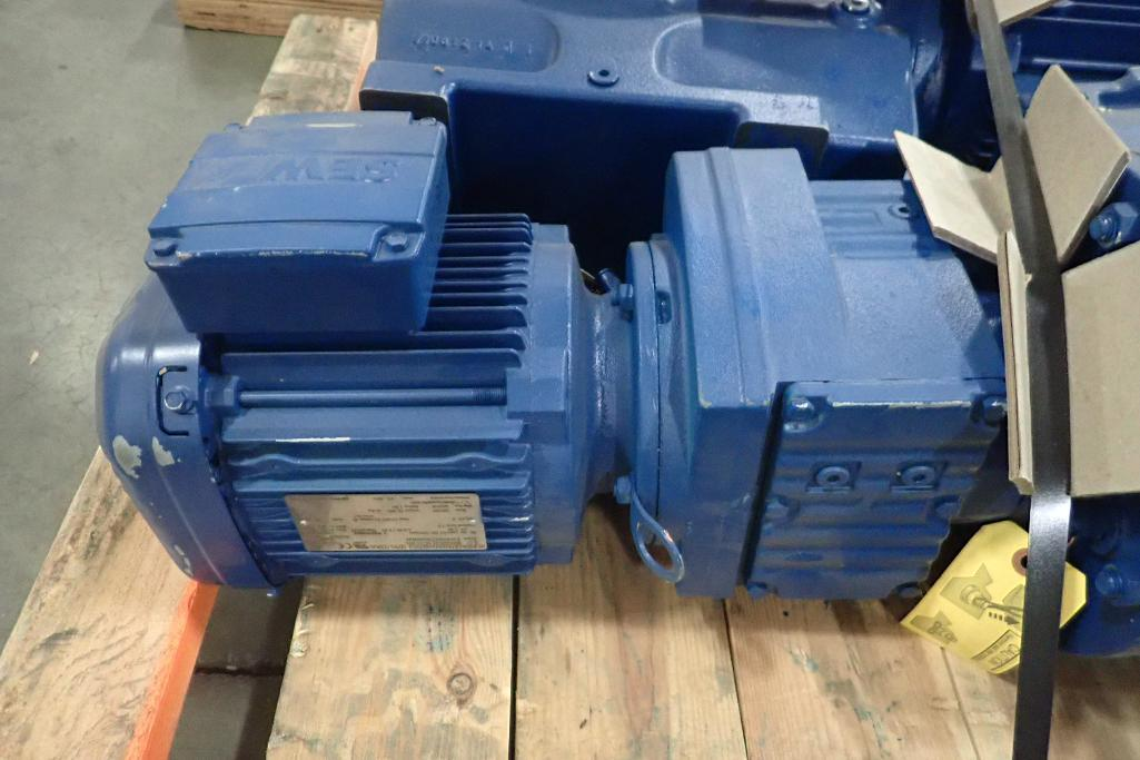 Lot 2013 - SEW 1.5 hp electric motor and gearbox. (See photos for additional specs). **Rigging Fee: $25** (Loca