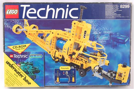 Lego Technic An Original Lego Technic Submarine 8299 Within The