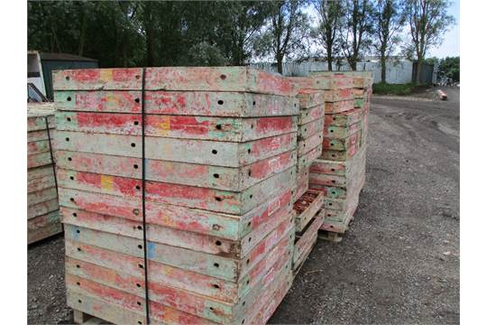 LARGE QUANTITY OF PERI TYPE SHUTTERING FORMWORK 150 NO ASSORTED