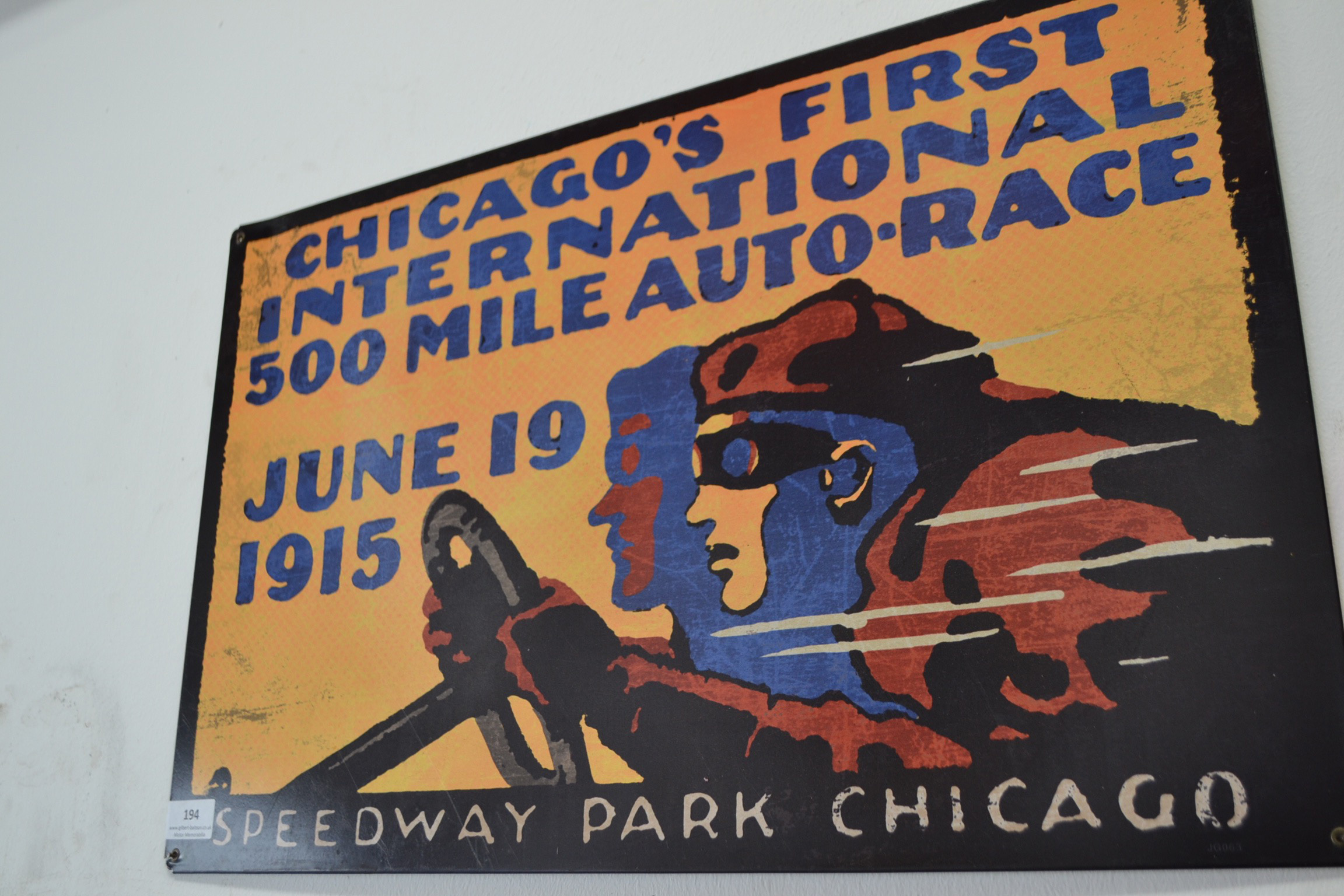 Chicagos first international 500 mile auto race june 1915 for Charity motors auction 8 mile