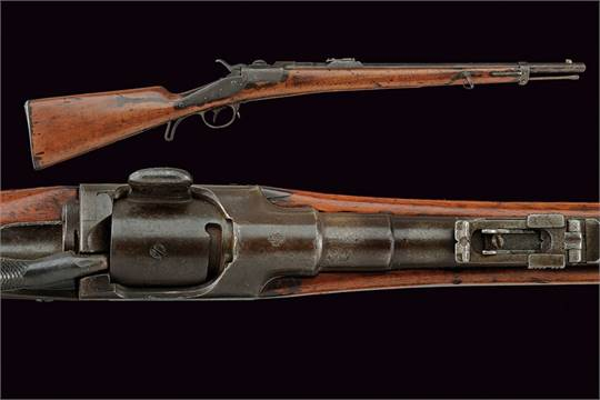 A 1873 model Werndl Cavalry carbine dating: third quarter of the