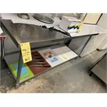 MKE Table de travail acier inox # ECTC 72 X 30 -NEUVE