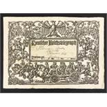 DEUTSCHE REICHS TELEGRAPH - USED, 1907