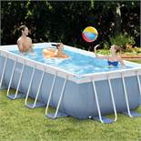 Intex Prism Metal Double Frame Swimming Pool Cover 400 x 200 x 100 cm RRP £499.99