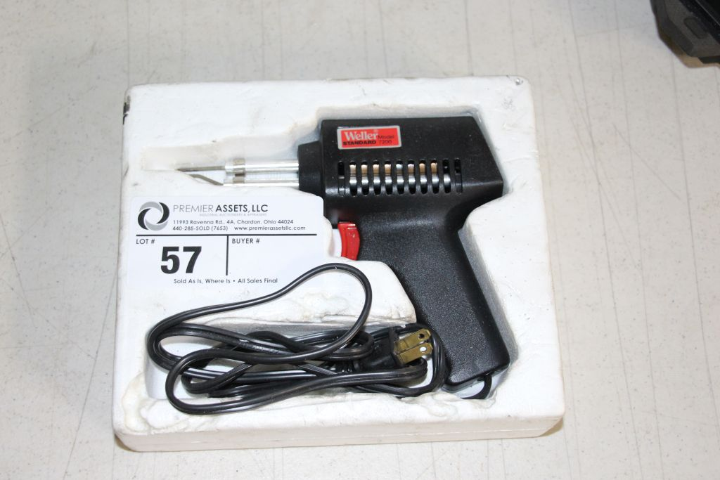 Lot 57 - Weller Standard Soldering Gun, 75 watt, model 7200