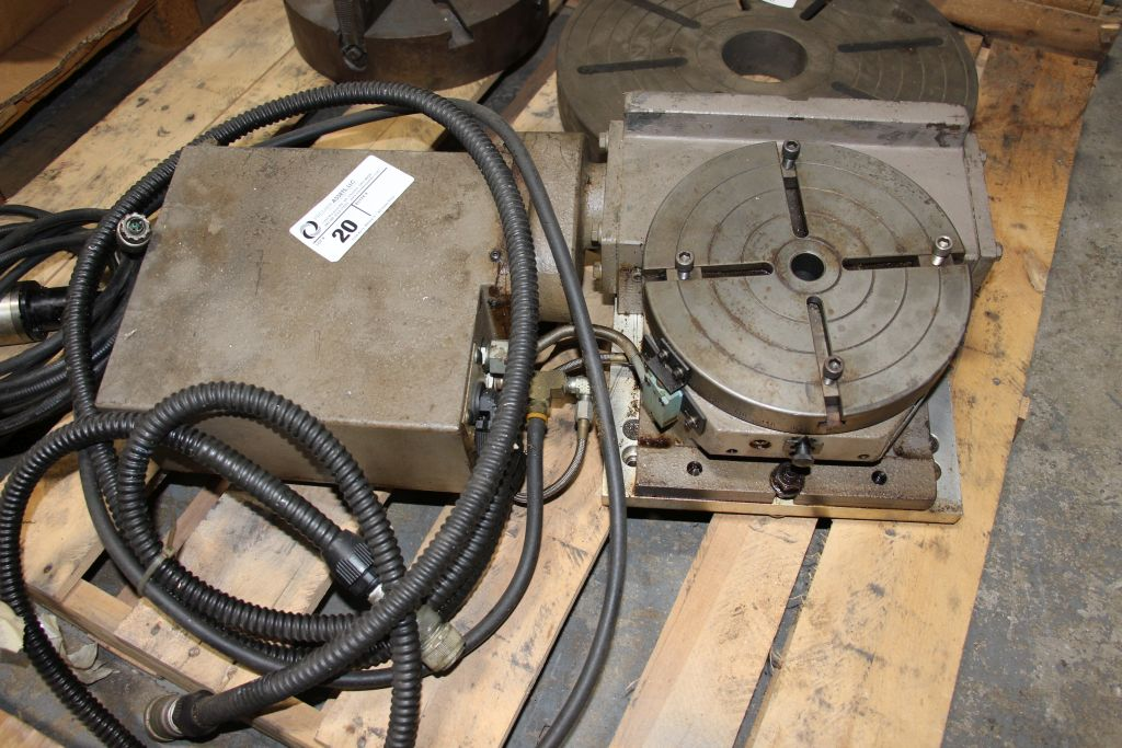 Troyke 4th axis, model - NC-10-A, with Renshaw tool probe