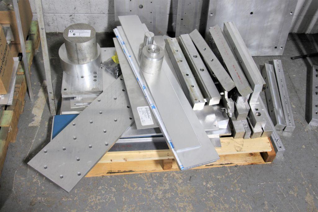 assortment of scrap aluminum