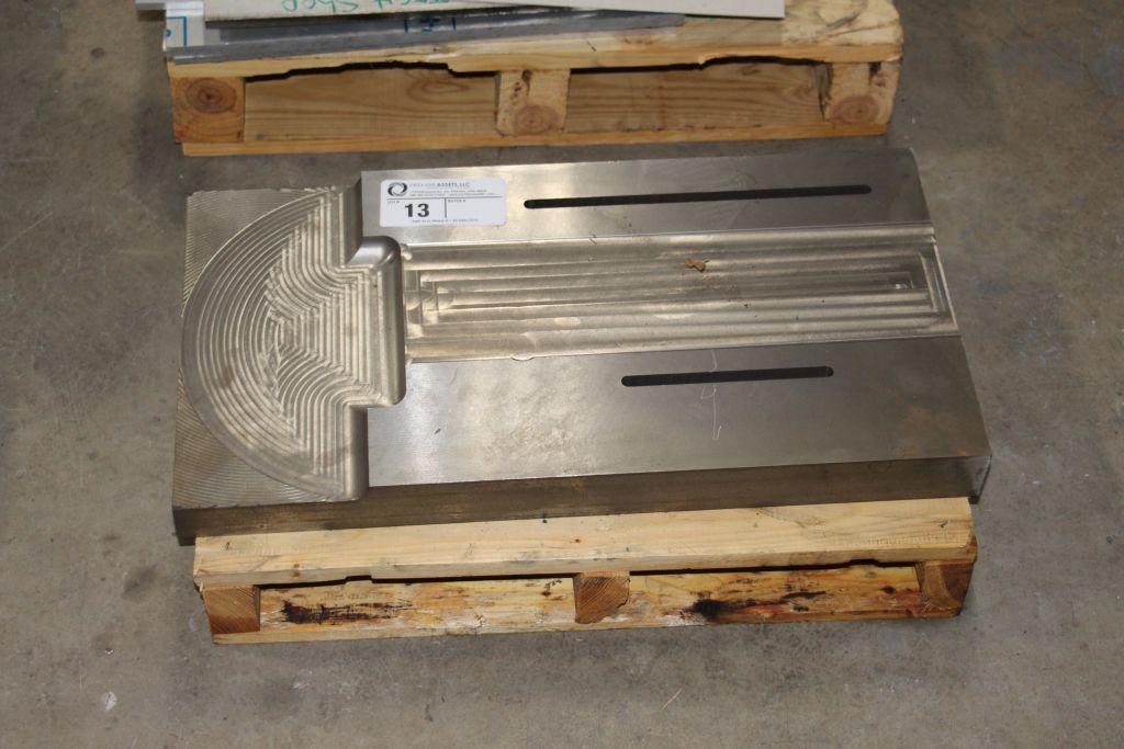 steel fixture, scrap