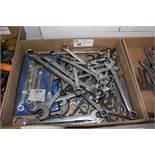 "assortment of wrenches, 3/8"" - 1 1/16"""