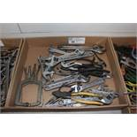 "assortment of crescent wrenches, 6"" - 12"" & misc."
