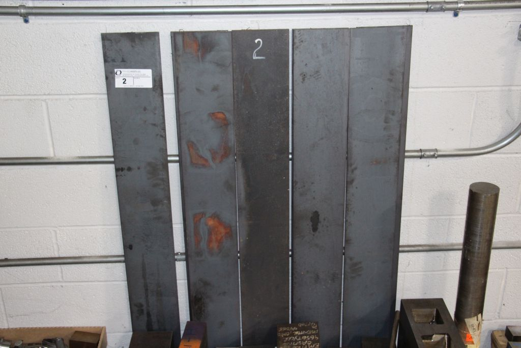 assortment of steel plate
