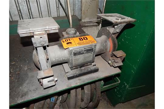 Black And Decker Double End Bench Grinder Maintenance