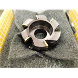Kennemetal #KSPR4XD232215F6, 4 Inch Diameter Carbide Insert Face Mill