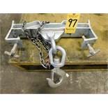 Vestil Model Fork 10 Lifting Hook, 10,000 Lb. Capacity