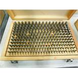 Pin Gage Set, .251 In. - .500 In. Minus
