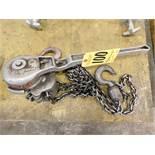 Coffing 1 1/2 Ton Ratchet Type Chain Hoist