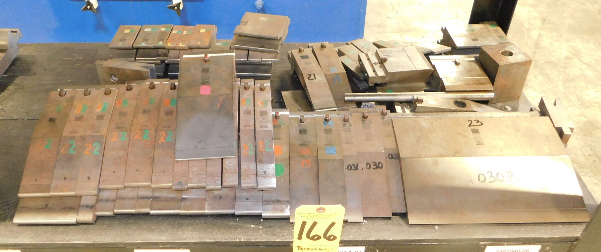 Lot 166 - Trumpf Press Brake Tooling